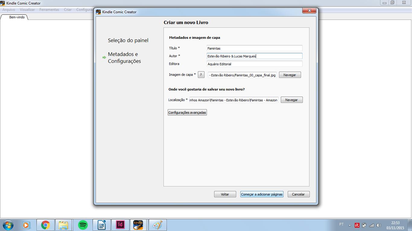Kindle blog da livrus etapa 3 metadados fandeluxe Image collections